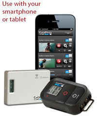 Click for a larger picture of GoPro Wi-Fi BacPac and Remote Combo Kit, HD Hero/Hero2 only