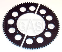 Click for a larger picture of Premier #35 Split Ring Racing Kart Sprocket