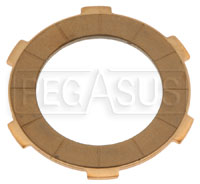 Click for a larger picture of HPV Replacement Kart Clutch Disc, 6-Tab, each