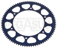 Click for a larger picture of Driveline Single Piece 219 Racing Kart Axle Sprocket