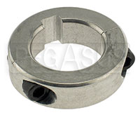 Click for a larger picture of Aluminum Axle Lock Collar, 30mm