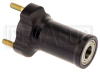 Click for a larger picture of Front Wheel Hub, 95mm wide, for 17mm Kart Spindle