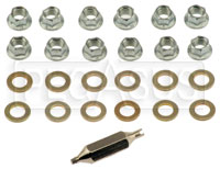 Click for a larger picture of CIK 8mm Jetnut and Washer Kit, 12-pc