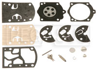 Click for a larger picture of Walbro WB-3A Complete Rebuild Kit
