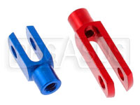 Click for a larger picture of 6mm Aluminum Fork, (specify length & color)