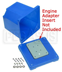 Click for a larger picture of Kart Engine Storage and Shipping Case, (Base & Cover only)