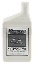 Click for a larger picture of Kartech 2 Cycle Clutch Oil - Quart