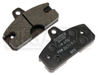 Click for a larger picture of MCP Standard (Soft) Compound Kart Brake Pad, pair