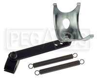 Click for a larger picture of Karting Exhaust Pipe Mount Assembly, Long Arm