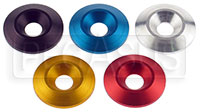 "Click for a larger picture of 8mm (5/16"") Aluminum Conical Washer"