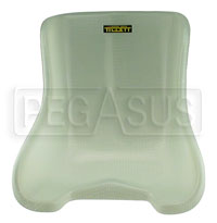 Click for a larger picture of Tillett Fiberglass Karting Seat - Standard Flex - ON SALE!