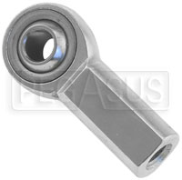 Click for a larger picture of High Strength Alloy Steel Rod End, Female, Plain