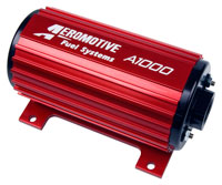 Click for a larger picture of Aeromotive A1000 Fuel Pump, 150 GPH, 70 psi, EFI / Carb