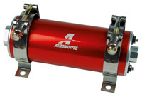 Click for a larger picture of Aeromotive A750 Fuel Pump, 100 GPH / 70 psi, Red