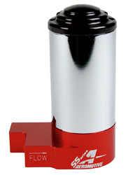 Click for a larger picture of Aeromotive Street/Strip Fuel Pump, 14 psi, 140 GPH, 3/8 NPT