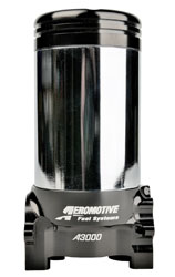 Click for a larger picture of Aeromotive A3000 Modular Fuel Pump (Pump Only), 400 GPH