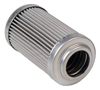 Click for a larger picture of Aeromotive In-Line Fuel Filter Element, 100 Micron Stainless