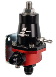 Click for a larger picture of Aeromotive Compact Bypass EFI Regulator, 30-70 psi, -6 ORB