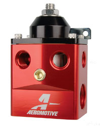 Click for a larger picture of Aeromotive A4 Dead-Head Regulator, 5 to 15 psi, 4x -6 ORB