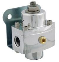 Click for a larger picture of Regulator, Adj. Carbureted, Billet, 6AN, Platinum Series