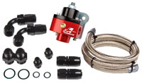 Click for a larger picture of Aeromotive Kit, Regulator, Single Carb.