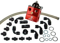 Click for a larger picture of Aeromotive Kit, Regulator, 4-Port Carb.: Dead Head Regulator