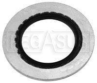 Click for a larger picture of Aeroflow Steel Stat-O-Seal Sealing Washers