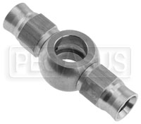 Click for a larger picture of Stainless Steel -3 Double Banjo Hose End, 3/8 (10mm)