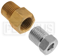 "Click for a larger picture of Brake Fitting Adapter Kit, 3/16"" Tube (3/8-24 IF) to 1/8 NPT"