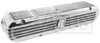 Click for a larger picture of Aeroflow Billet Retro Valve Covers, Chevy LS2 /  LS3