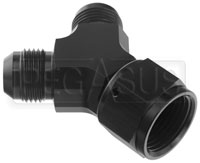 Click for a larger picture of AN Y-Fitting, Female Swivel Inlet to Male Outlets