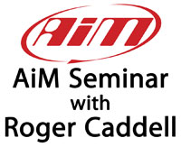 Click for a larger picture of AiM Data Acquisition Seminar with Roger Caddell