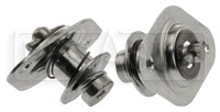 "Click for a larger picture of Aeroloc 10-08 Fastener, Cross Head, Plain Holes, 0.83"" Long"