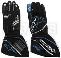 Click for a larger picture of Alpinestars 2017 Tech 1-ZX Glove, SFI 3.3, FIA 8856-2000