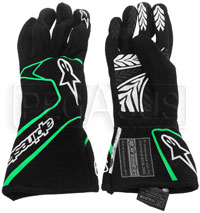 Click for a larger picture of Alpinestars 2017 Tech 1 Race Glove, SFI 3.3, FIA 8856-2000