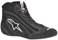 Click for a larger picture of Alpinestars SP Shoe, Solid Color, SFI, FIA 8856-2000