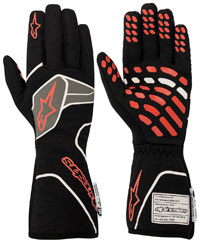 Click for a larger picture of Alpinestars TECH-1 RACE v2 Glove, SFI, FIA 8856-2018