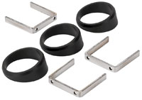"Click for a larger picture of Auto Meter 2-1/16"" Angle Rings, pkg of 3"