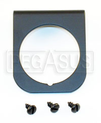 Click for a larger picture of 1-Hole Mounting Panel for Z Series Gauges, Black