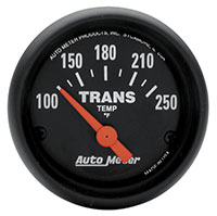 "Click for a larger picture of Auto Meter 2"" Trans Temp Gauge. 100- 250 F"
