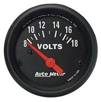 Click for a larger picture of Z Series 2 inch Voltmeter, Electric