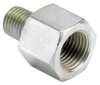 Click for a larger picture of 1/16 NPT Male to 1/8 NPT Female Adapter for Fuel Rail