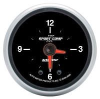 Click for a larger picture of Sport Comp II 2-inch Illuminated Analog Clock