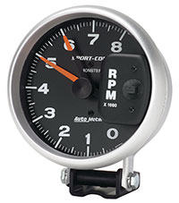 "Click for a larger picture of Sport-Comp 5"" Electric Tach, 8K RPM"