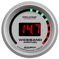 """Click for a larger picture of Ultra Lite 2"""" Wide Band Air/Fuel Ratio Kit, Street"""