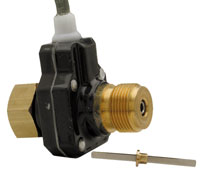 "Click for a larger picture of Speedometer Sender, 7/8-18"" Thread Hall Effect, 16 Pulse"