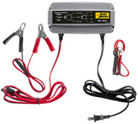 Click for a larger picture of Auto Meter Battery Extender, 6, 8, 12 or 16 Volt, 5 Amp