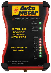 Click for a larger picture of Auto Meter Memory Saver Smart Power System