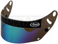 Click for a larger picture of Arai FIA Approved Mirrored Shield for GP-6