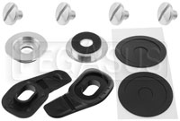 Click for a larger picture of Arai Standard Shield Pivot Kit for GP-6 Helmets, Silver